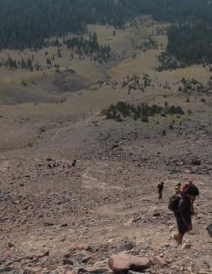 Climbing 500ft